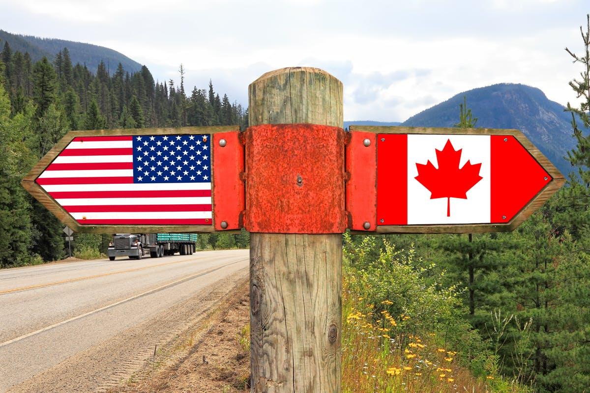 بسته ماندن مرز کانادا-آمریکا برای هفتمین بار تمدید شد