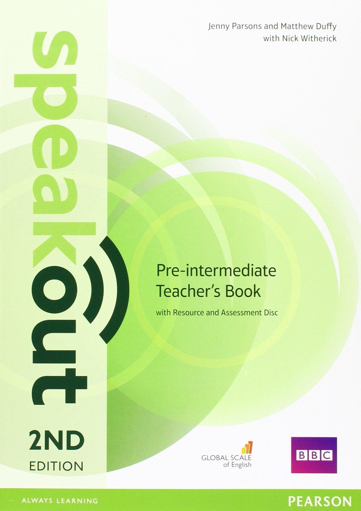 Speakout Pre Intermediate TB